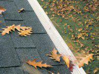 feuilles protege-gouttieres