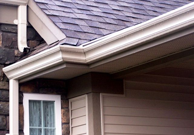 What Type Of Downspout To Use With Fascia Style Gutters