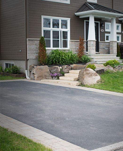 Entree-asphalte