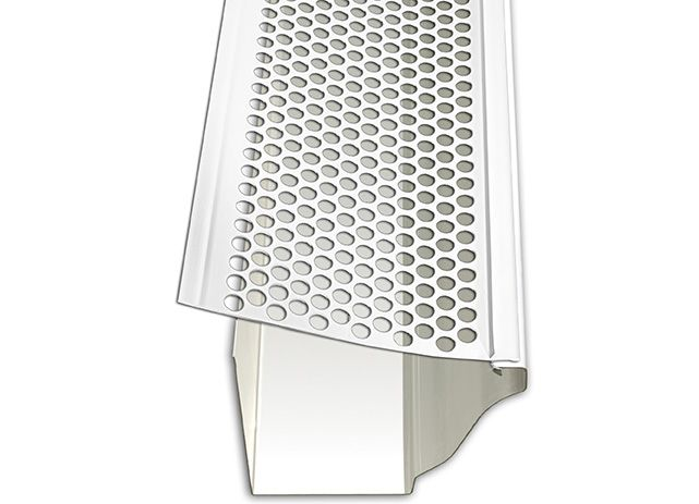 Gutter Protection Perforated Plastic