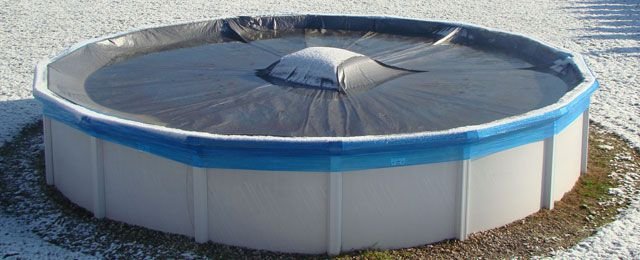 Coussin hivernage piscine
