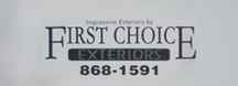 First Choice Exteriors
