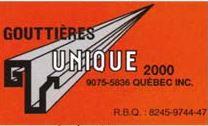 Gouttières Unique 2000 Inc