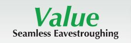 Value Seamless Eavestroughing